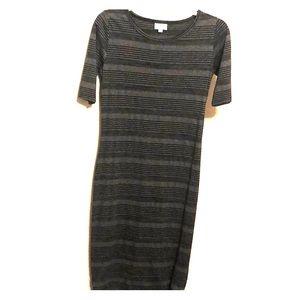LuLaRoe XS Striped Dress- New Without Tags